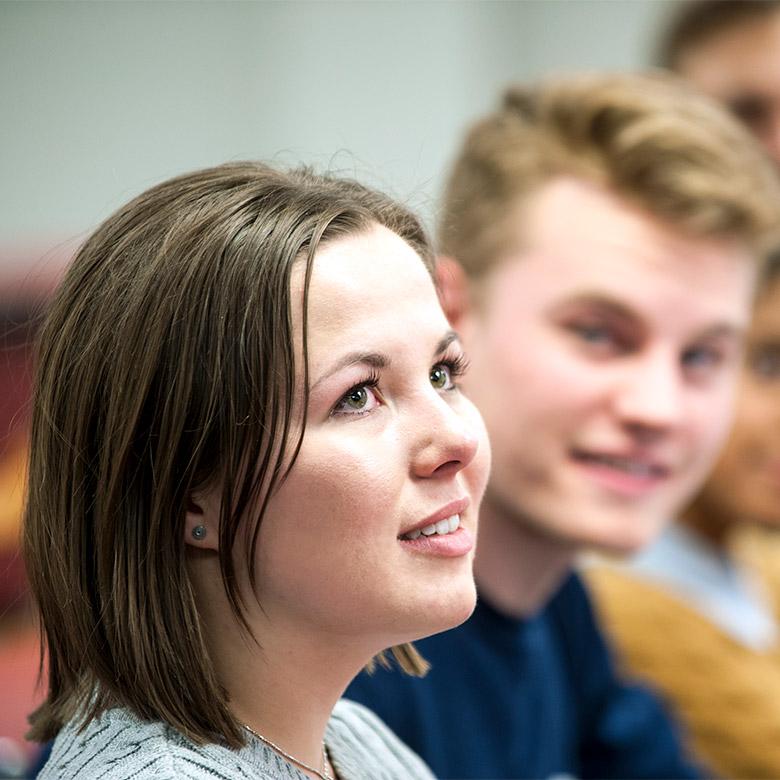 Undergraduate Students in classroom at UBC Okanagan